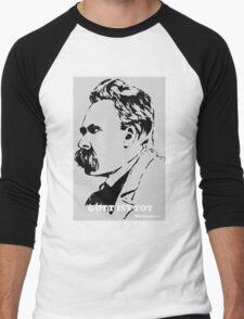 Gott ist Tot - Nietzsche Men's Baseball ¾ T-Shirt