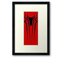the amazing spider man logo Framed Print
