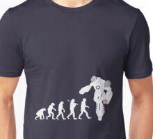 Evolution of a Robot  Unisex T-Shirt