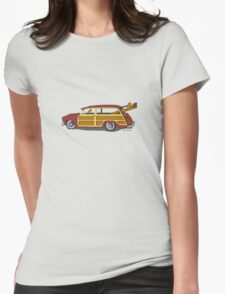 Surf n Safari Womens Fitted T-Shirt