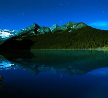 Lake Louise Exposed by Rick Louie