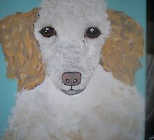 nyieve apricot poodle by leona noble