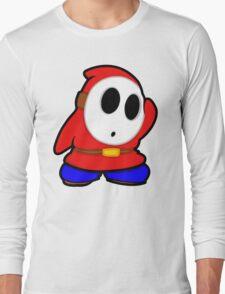 shyguy mario bros Long Sleeve T-Shirt