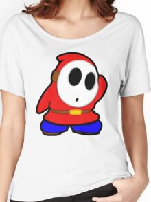 shyguy mario bros Women's Relaxed Fit T-Shirt