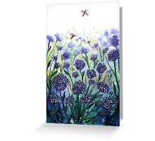 Happy Hydrangeas Greeting Card