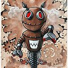 Smiley Bot by Bethalynne Bajema