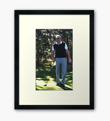 Kevin Costner  Framed Print