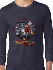 rick and morty back to the future  Long Sleeve T-Shirt