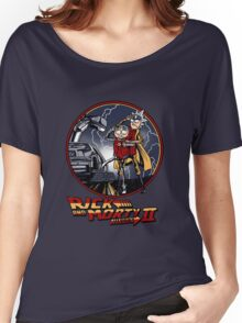 rick and morty back to the future  Women's Relaxed Fit T-Shirt