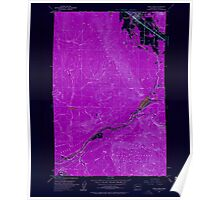 USGS Topo Map Washington State WA North Bend 242858 1953 24000 Inverted Poster