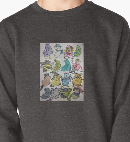 Kidney Doodles  Pullover