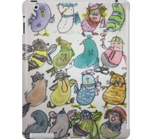Kidney Doodles  iPad Case/Skin