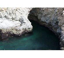 Cove, Bird Island, Point Lobos Photographic Print
