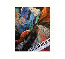 Music Mania Art Print