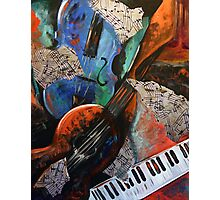 Music Mania Photographic Print