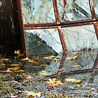 Broken Reflections - Sea Green by LadyEloise