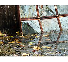 Broken Reflections - Sea Green Photographic Print