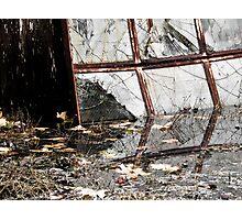 Broken Reflections – Sans Green Photographic Print