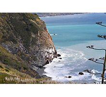 Cliffs, Lucia Photographic Print