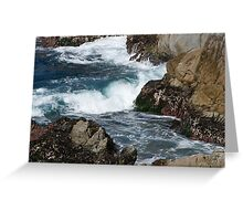 Cypress Cove from Big Dome, Point Lobos Greeting Card