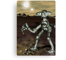 Alien Model from the Video, 'The Space Song' (MBJ) Canvas Print