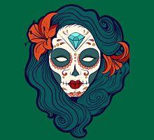 Calavera Woman V T-Shirt