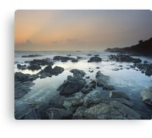 """The Hastening"" ∞ Hastings Point, NSW - Australia Canvas Print"