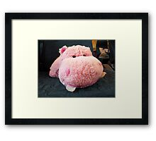 Hippo Commuter Framed Print