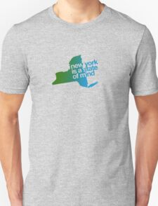 New York is a state of mind - Green/blue T-Shirt
