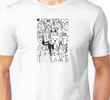 Cats doodle Unisex T-Shirt