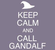 Keep calm and call Gandalf by Adekin