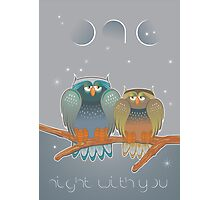 one night with you Photographic Print
