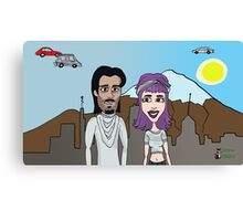 Space Jimmy Significant Mother music video - Future scene Canvas Print
