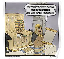 A Pharaoh to remember...oh. Poster