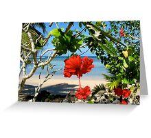 Samoa Greeting Card