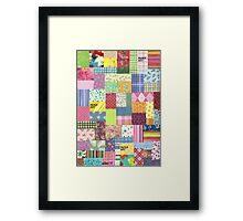 PAPER ART Framed Print