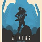 Aliens (1986) Custom Poster by Edward B.G.