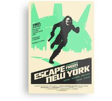 Escape From New York (1981) Custom Poster Metal Print