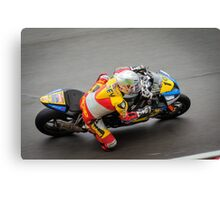 Above the superbike Canvas Print