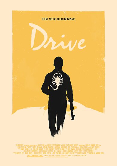 Drive (2011) Custom Poster Variant  by Edward B.G.