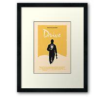 Drive (2011) Custom Poster Variant  Framed Print