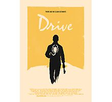 Drive (2011) Custom Poster Variant  Photographic Print