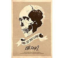 Evil Dead 2 (1987) Custom Poster Photographic Print