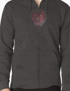 Stannis' armour  Zipped Hoodie