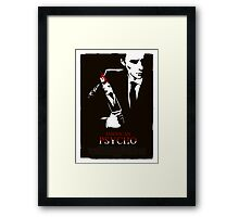 American Psycho (2000) Custom Poster Framed Print