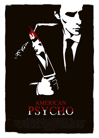 American Psycho (2000) Custom Poster by Edward B.G.