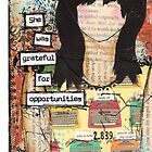 iPhone Case - grateful for opportunities by Giovanna Scott