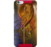 The flow of the time iPhone Case/Skin