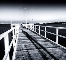 Jetty Walker by Michael Howard