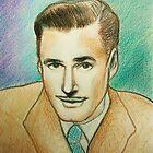 Portrait of Errol Flynn by karina73020